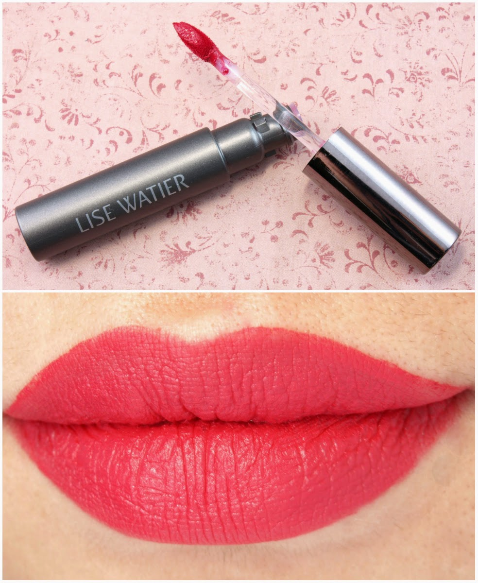 Lise Watier Baiser Velours Liquid Lipsticks: Review and Swatches