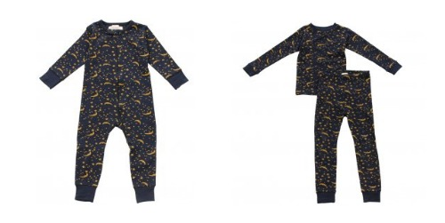 kids pajamas, sleeper, two piece pj's, merlin