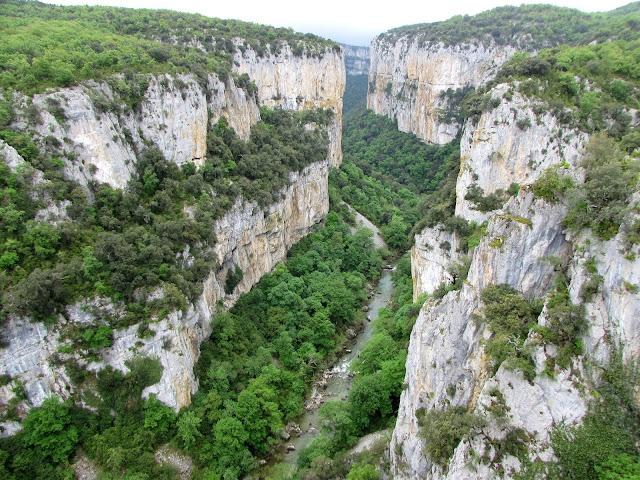 Navarra; Nafarroa; Foz de Arbayun; Buitreras