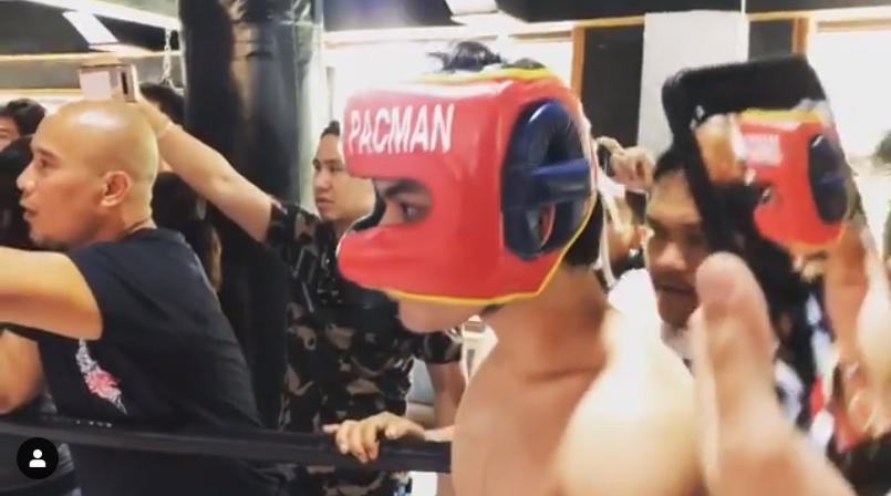 Emmanuel 'Jimuel' Pacquiao Jr. boxing