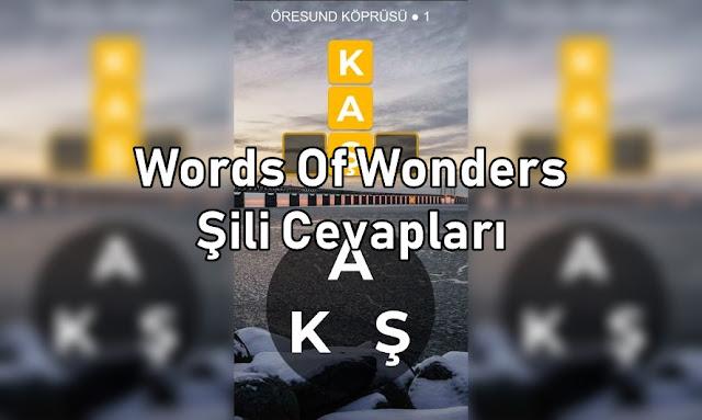 Word Of Wonders Sili Cevaplari