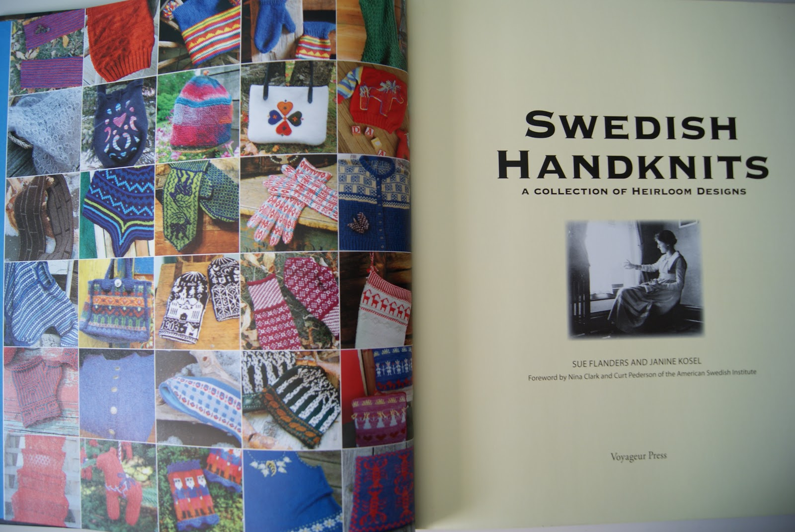 I was fortunate to have the opportunity to attend an exhibit (at the  American Swedish Institute) that featured all of the knitted items found in  this book… ...