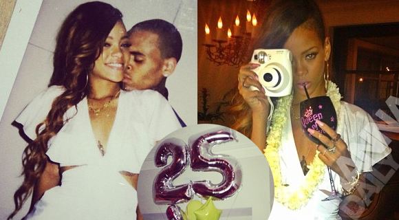 rihanna 25th birthday pictures in hawaii