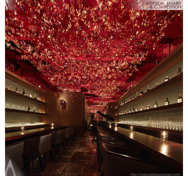 Design Award - RICCA Sakura in a bar by Roito by Ryohei Kanda