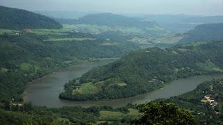 Ferradura do Rio das Antas, em Bento Gonçalves