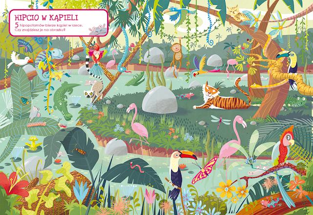 katarzyna urbaniak ilustracje wilga zagubione zwierzaki miasto zagubionych rzeczy jungle dżungla