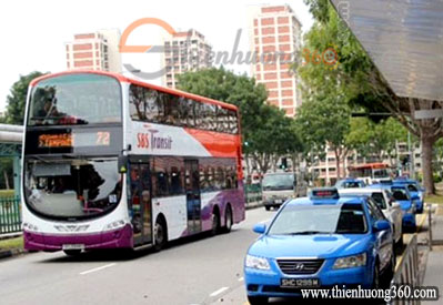 Hướng dẫn chọn phương tiện di chuyển ở Singapore: Taxi, Bus hay MRT Singapore?