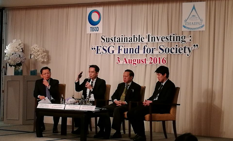 "TISCO – THAIPAT Put Spotlight on ""ESG & Philanthropic Investment"""