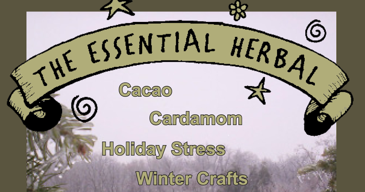 November/December '17 Essential Herbal, Table of Contents (Issue #96)
