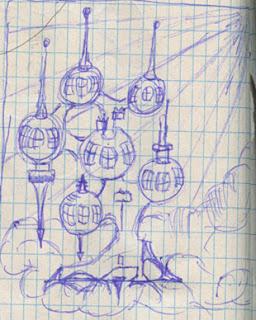 Cloud Castle drawing