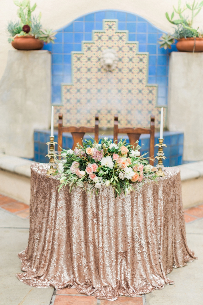 Romantic Villa Wedding Inspiration