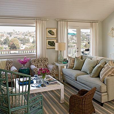 nets happy place: Coastal Living Window Treatments