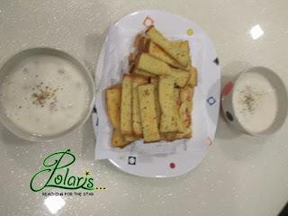 resipi mudah; resipi garlic bread dan mushroom soup; resipi sup cendawan; resipi 20min; resipi roti bawang putih; homemade
