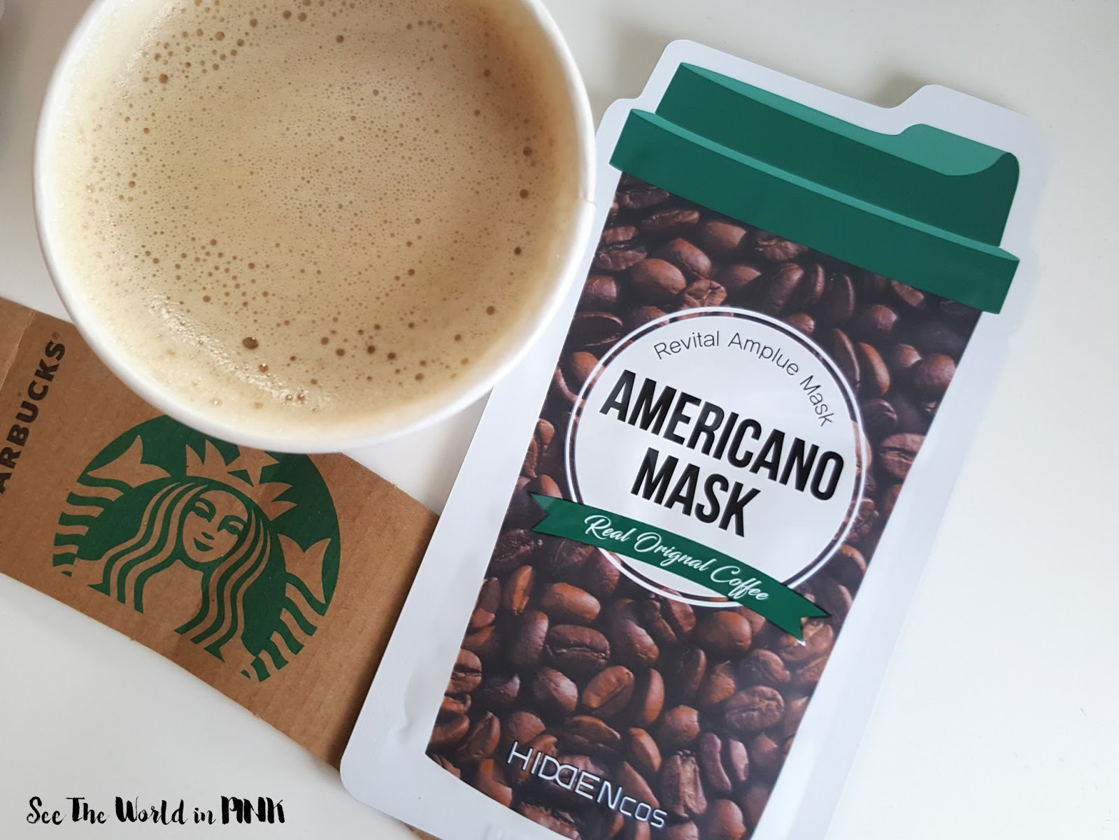Mask Wednesday - [JOLSE] Hiddencos Americano & Latte Mask Review!