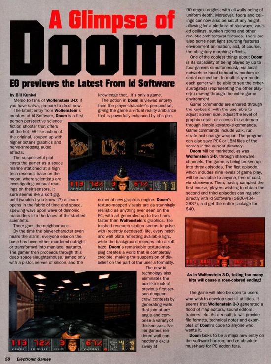 DOOM 1993 preview