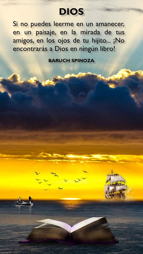 La Iluminacion Espiritual Frases Baruch Spinoza