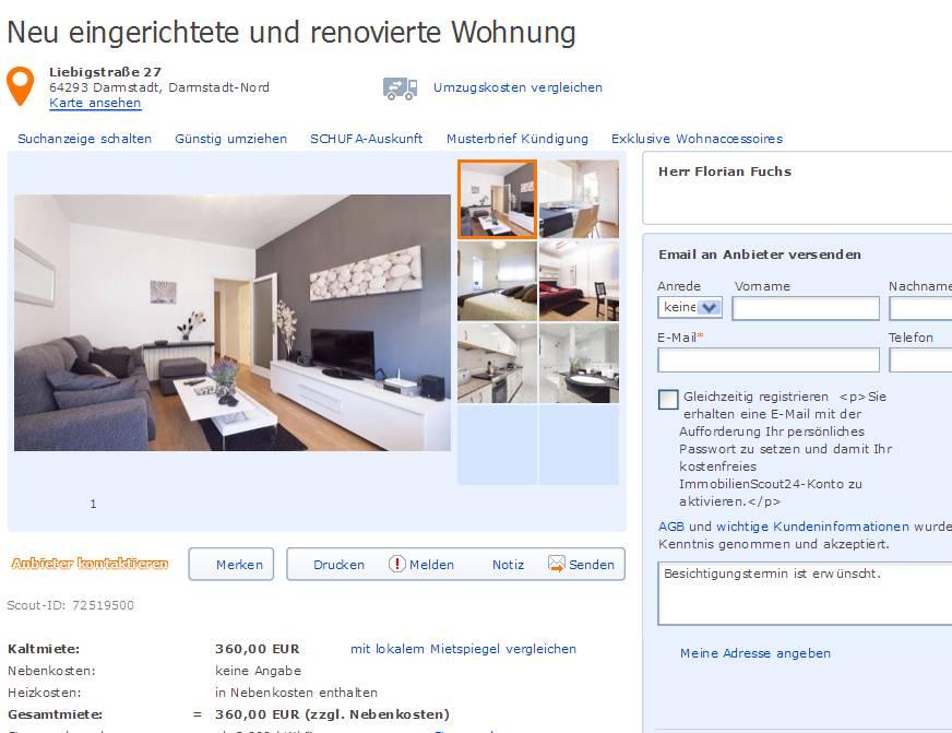 Wohnung Pforzheim  Zimmer