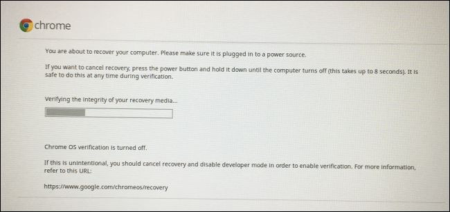 How to Restore Your Chromebook's Factory Default BIOS and