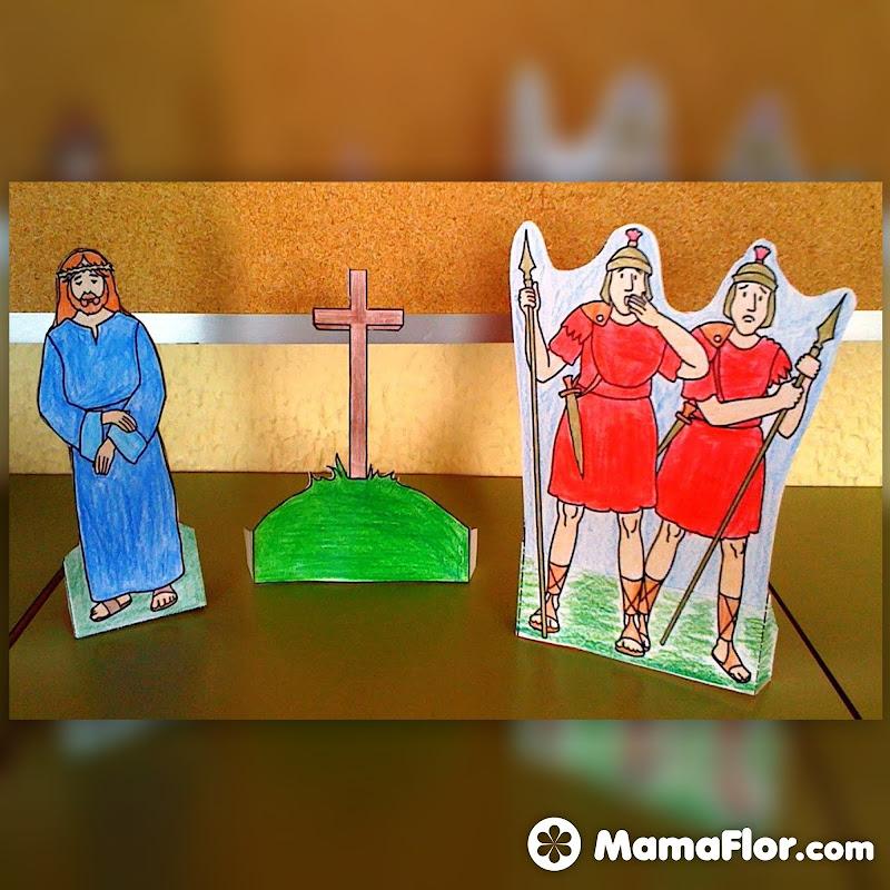 Manualidades de Semana Santa – Trabajos Escolares