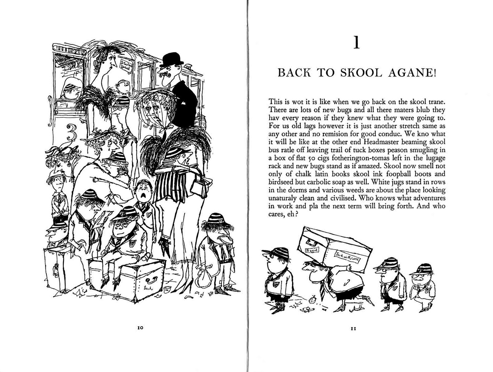 ECC Cartoonbooks Club: Ronald Searle the Great Part 2
