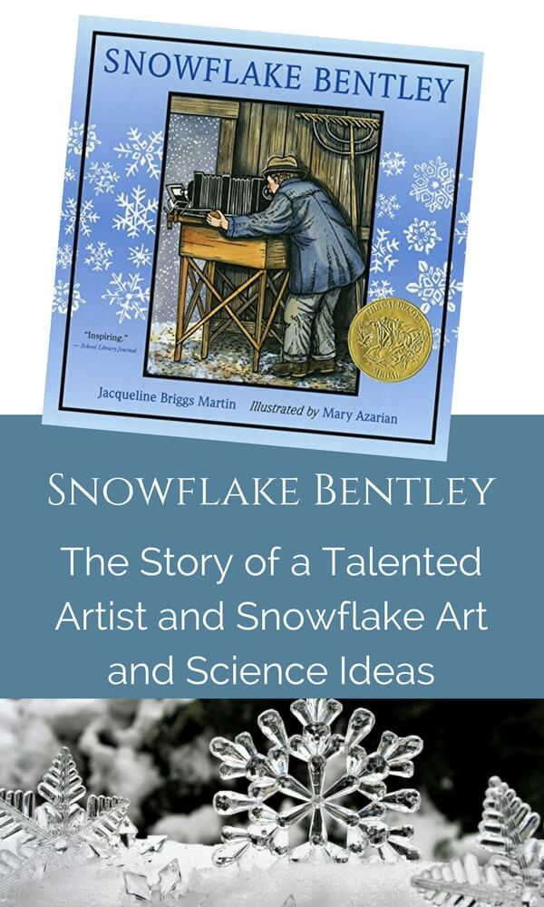 Snowflake art and science activities