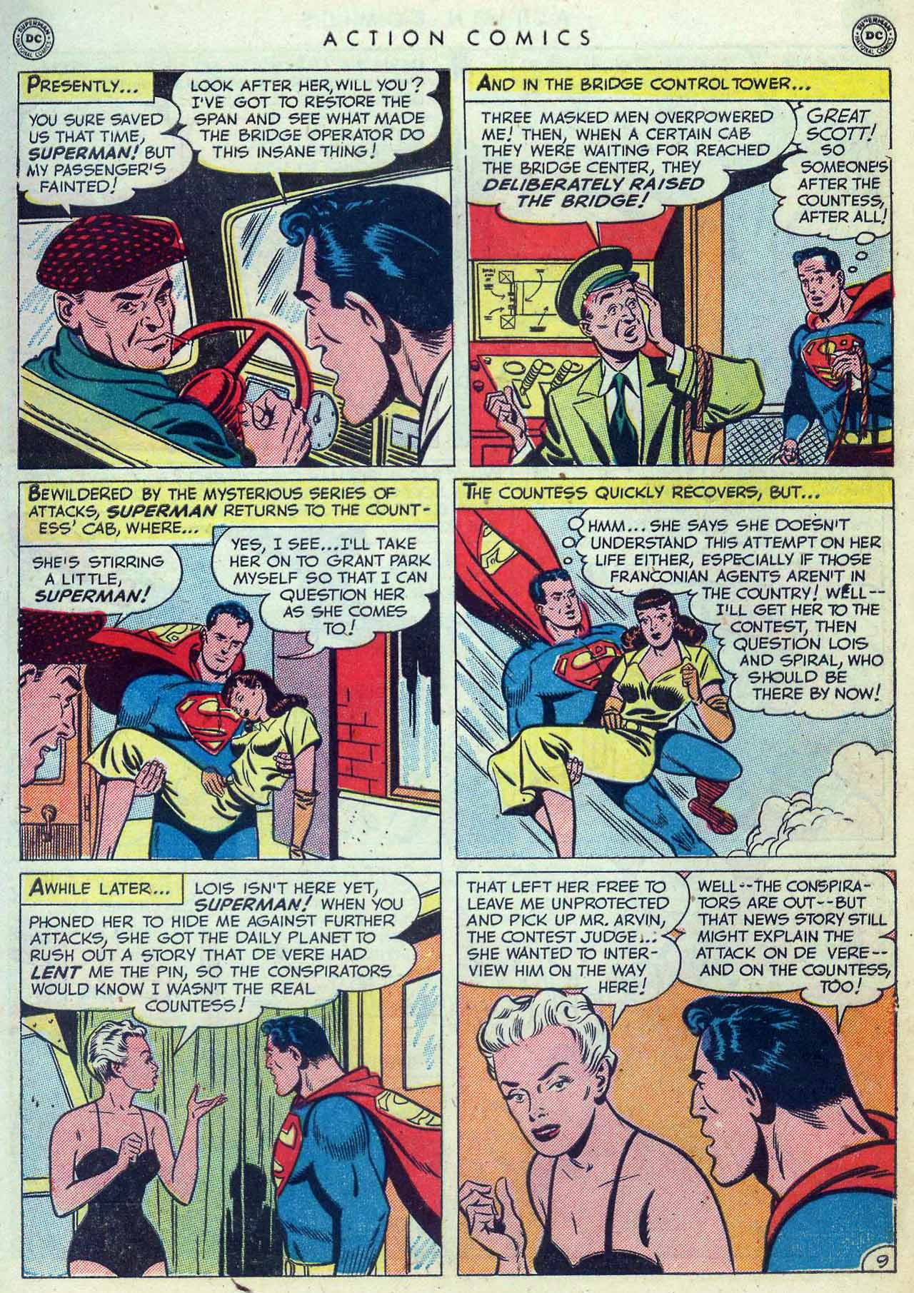 Read online Action Comics (1938) comic -  Issue #155 - 11