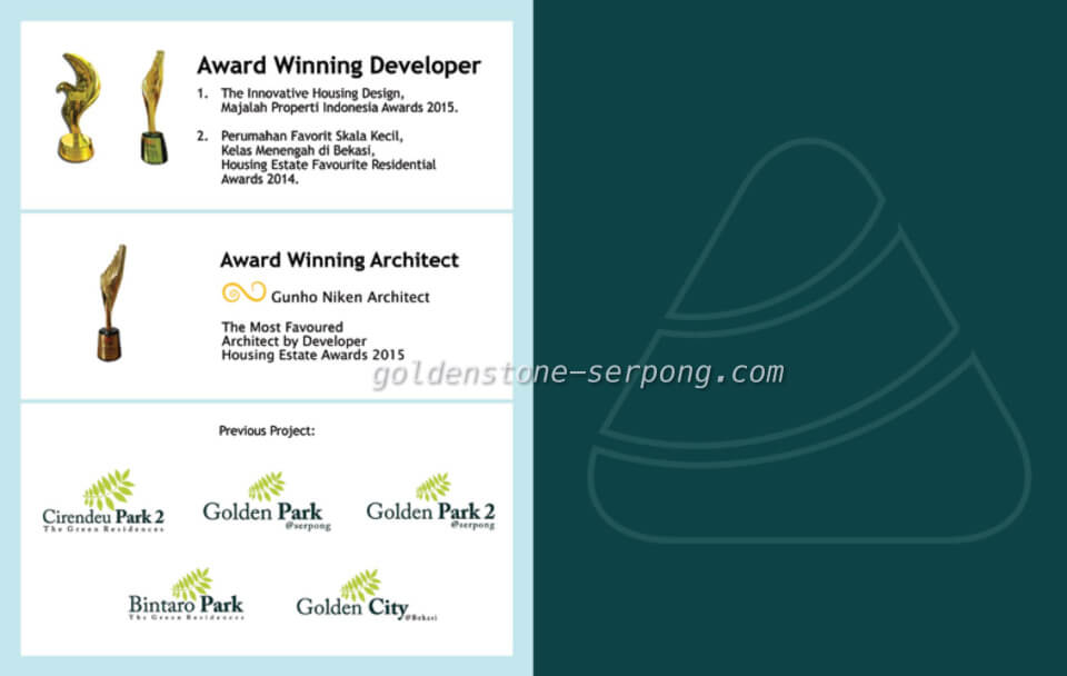 Developer The Golden Stone @ Serpong