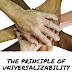 THE PRINCIPLE OF UNIVERSALIZABILITY: A SURFACE LEVEL REVIEW BY ADE ASH