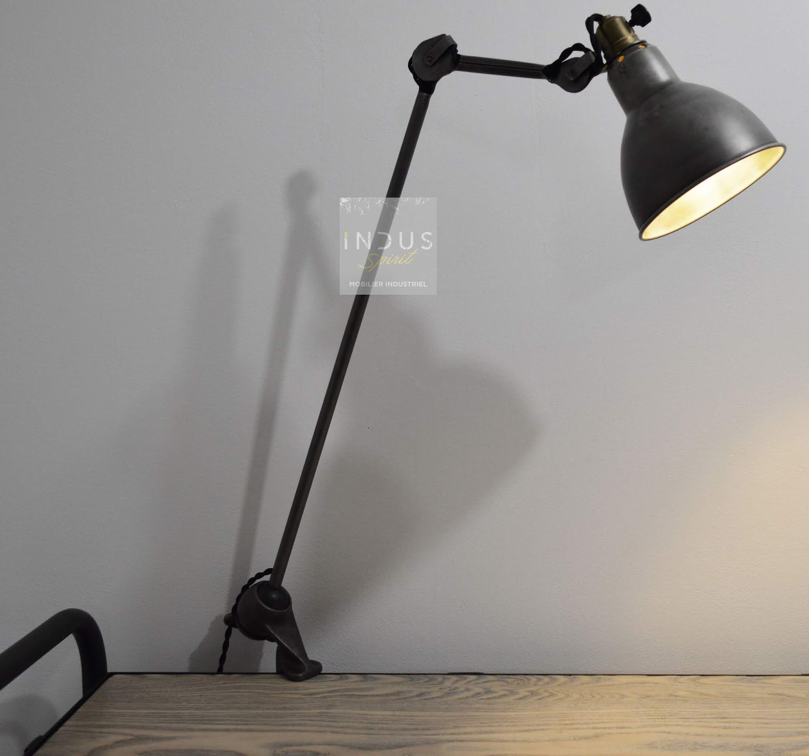 Ancienne Lampe Gras Modele 201