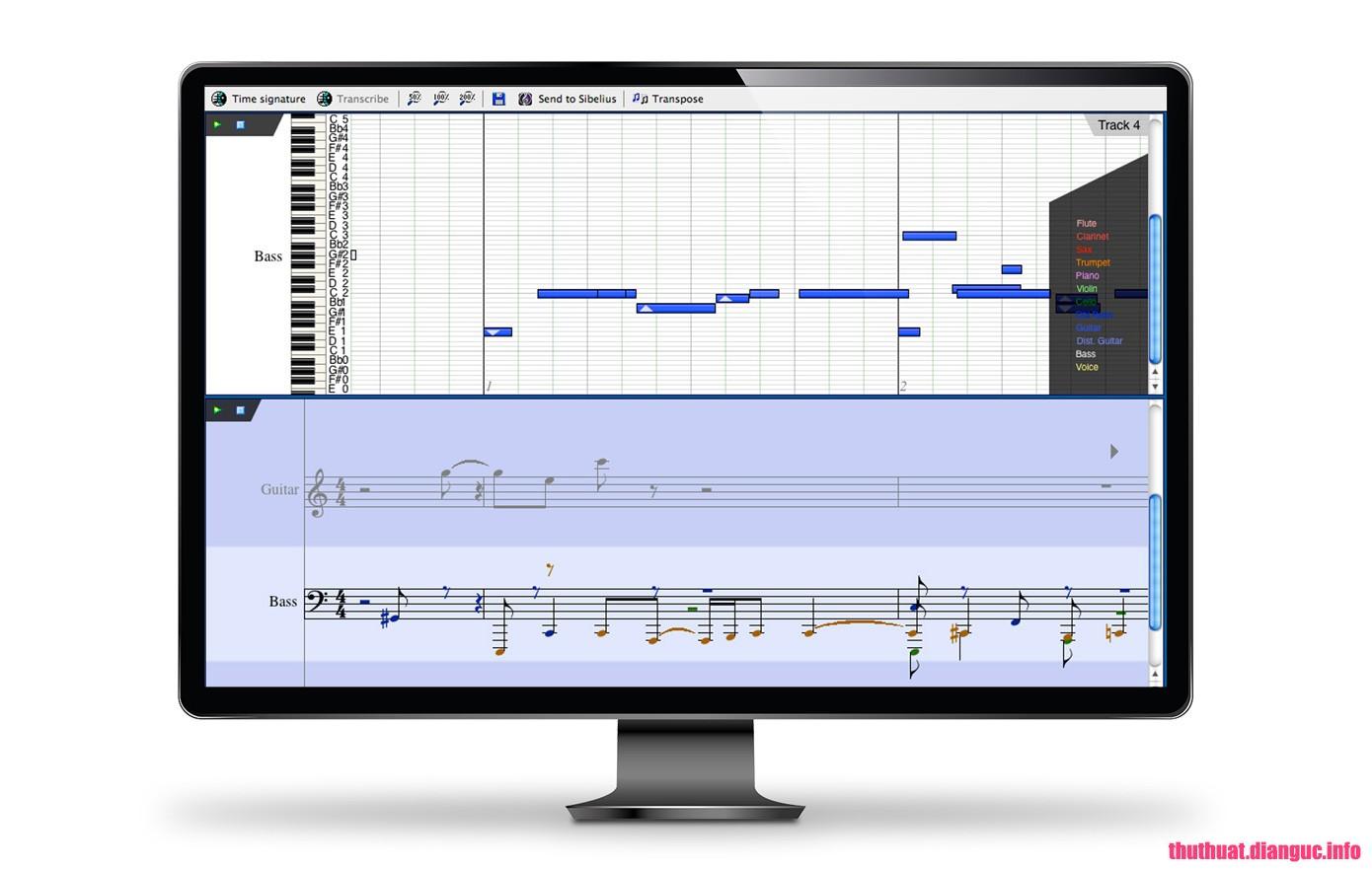 Download AudioScore Ultimate 2018.7 v8.9.1 Full Cr@ck – Chuyển đổi âm thanh sang ký tự nhạc