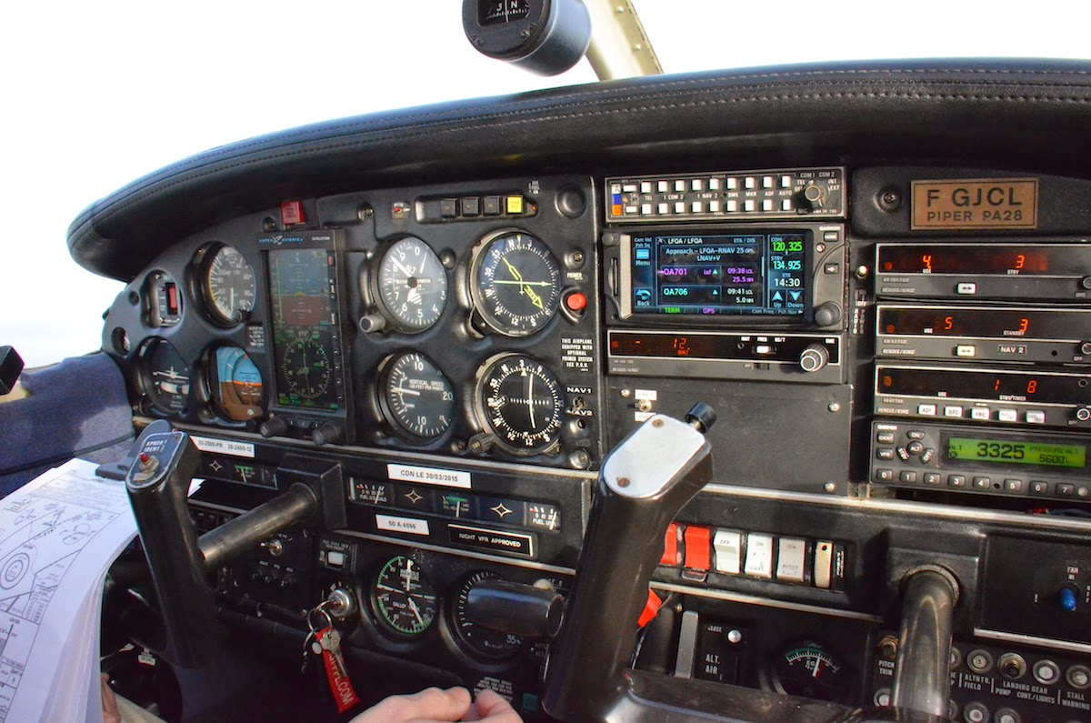 vol ifr en pa28 arrow iv turbo