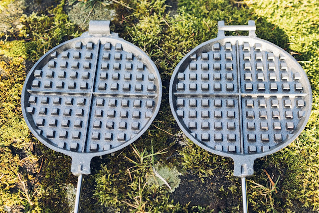 Gear of the Week #GOTW KW 07  ROME Chuckwagon Waffeleisen  Cast-Iron Waffle-Iron  Outdoor-Waffeleisen 03