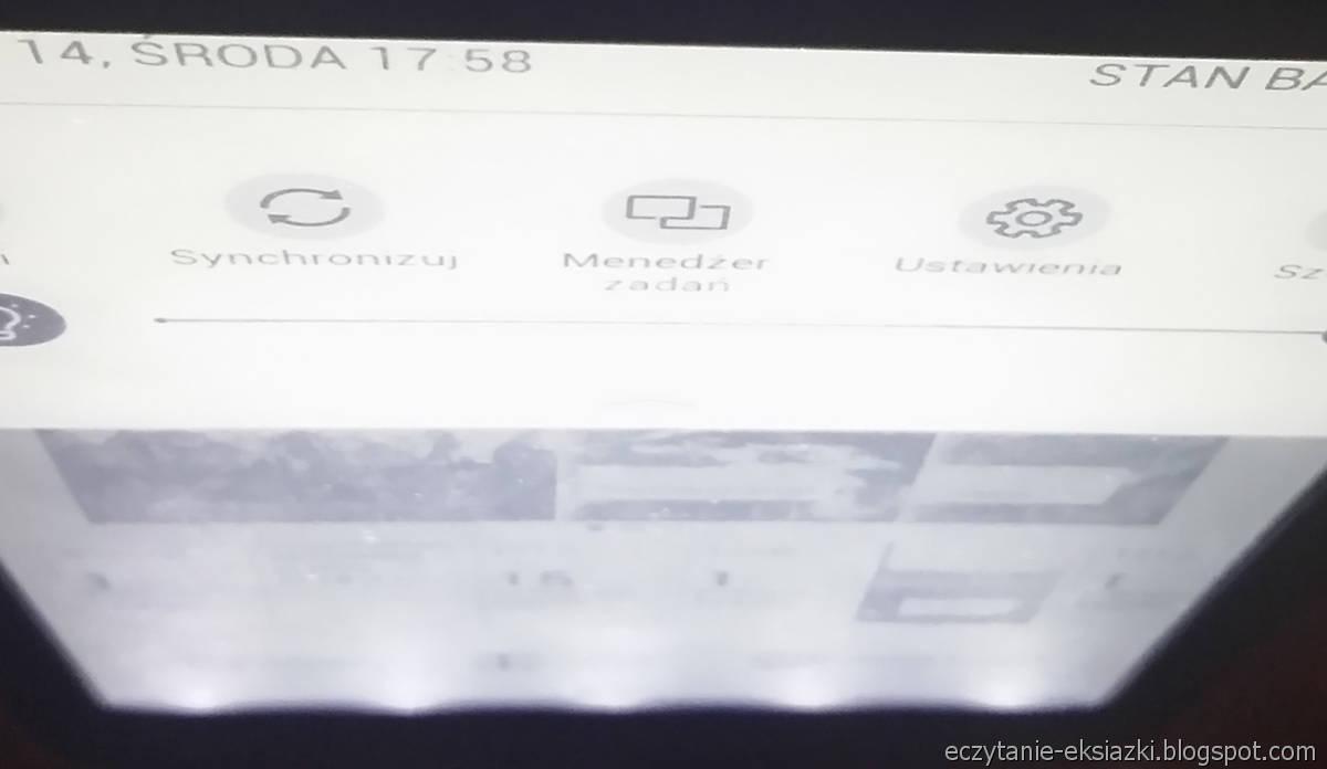Diody LED pod dolną ramka PocketBook Touch Lux 4