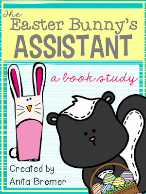 The Easter Bunny's Assistant book activities