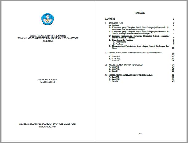 Berikut ini adalah berkas Silabus RPP Matematika SMP MTs Kurikulum  Silabus RPP Matematika SMP MTs Kurikulum 2013 Kelas VII, VIII, IX
