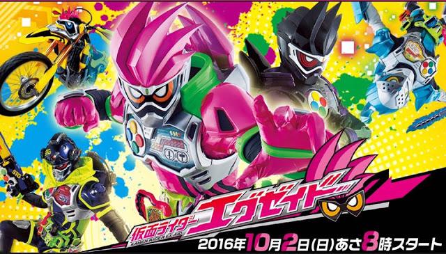 Merupakan serial Kamen Rider Terbaru, untuk tahun (2016 – 2017), Kamen Rider ini berkonsep Dokster dan Gamer, banyak sekali hal yang menarik di Kamen Rider yang mengusung tentang game ini.
