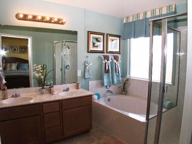 wall color ideas for small bathroom