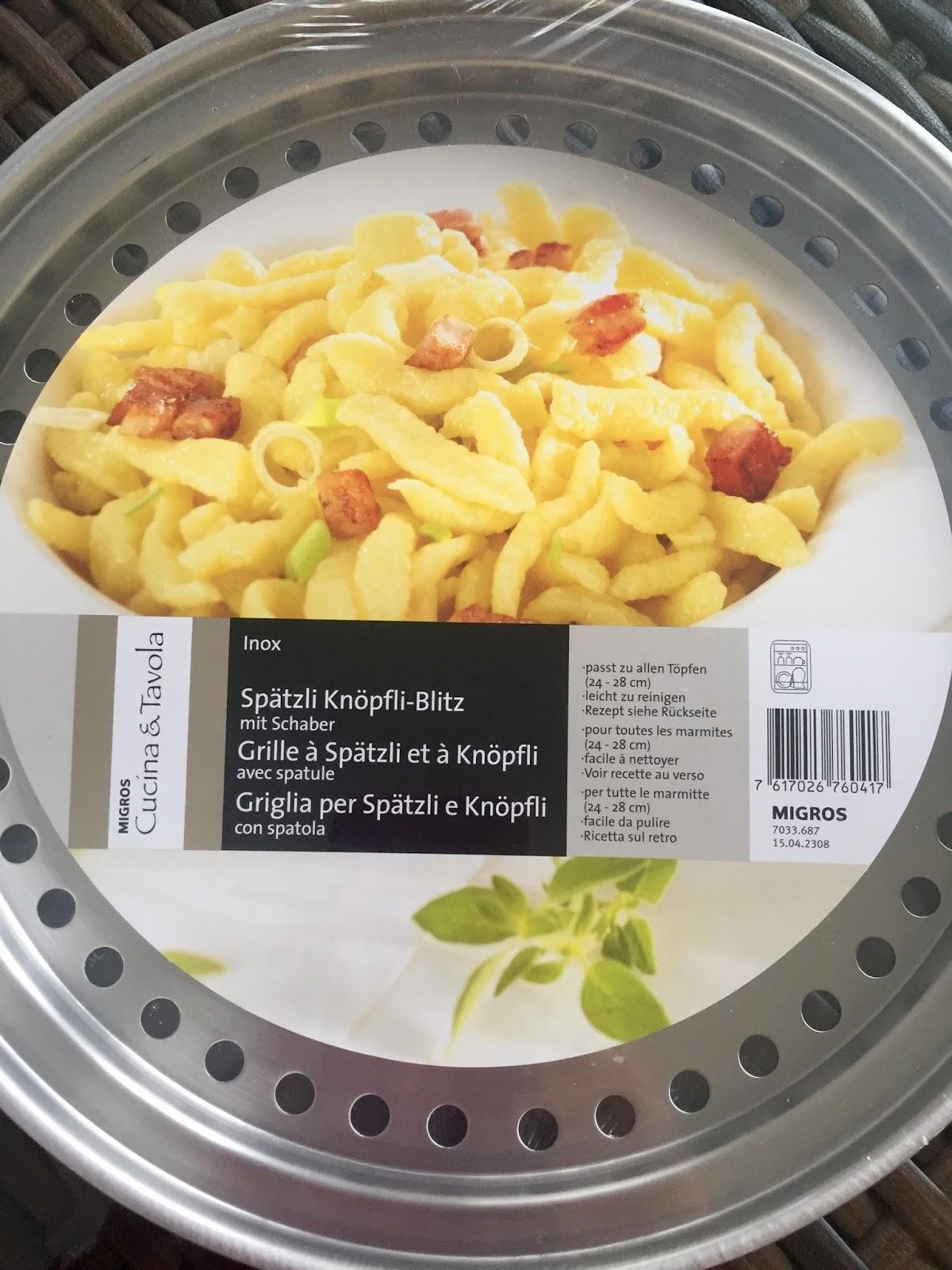 Mammastranger a spasso per la svizzera italiana sp tzli - Come cucinare gli spatzli ...
