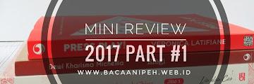 7 Buku Yang Dibaca Tahun 2017 - Mini Review #1