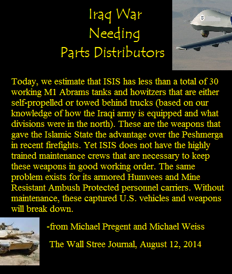 ISIS Short on Weapons