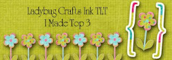 I made Top 3 at Ladybug Crafts Ink TLT