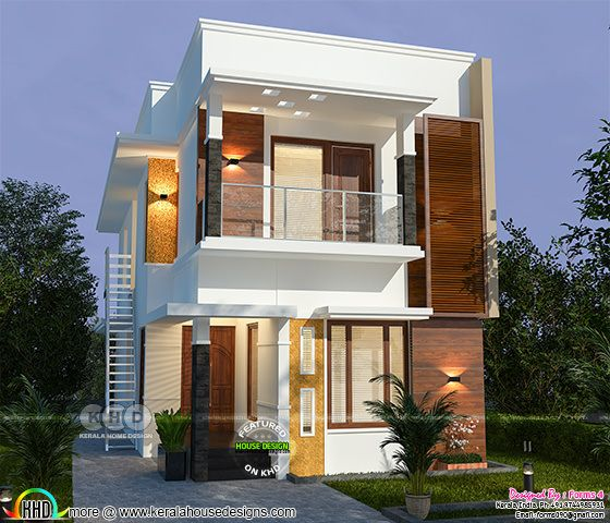 ₹25 lakhs cost estimated 5 bedroom home
