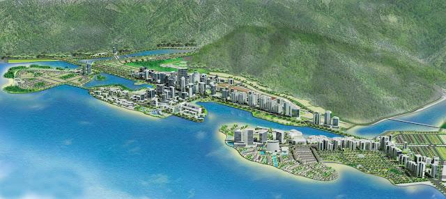 Phối cảnh khu đô thị Hạ Long Marina