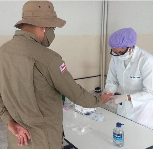 Seabra/BA:  Policiais Militares da equipe da 29ª CIPM  testam negativo pra Covid-19