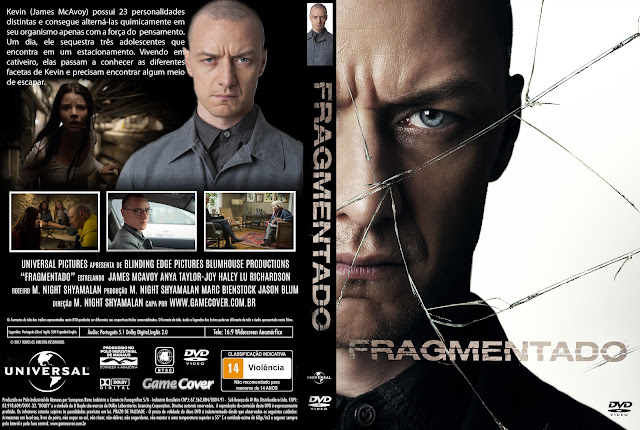 Capa DVD Fragmentado [Exclusiva]