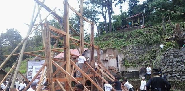 Cara Mencari Bahan Bangunan Rumah Gadang