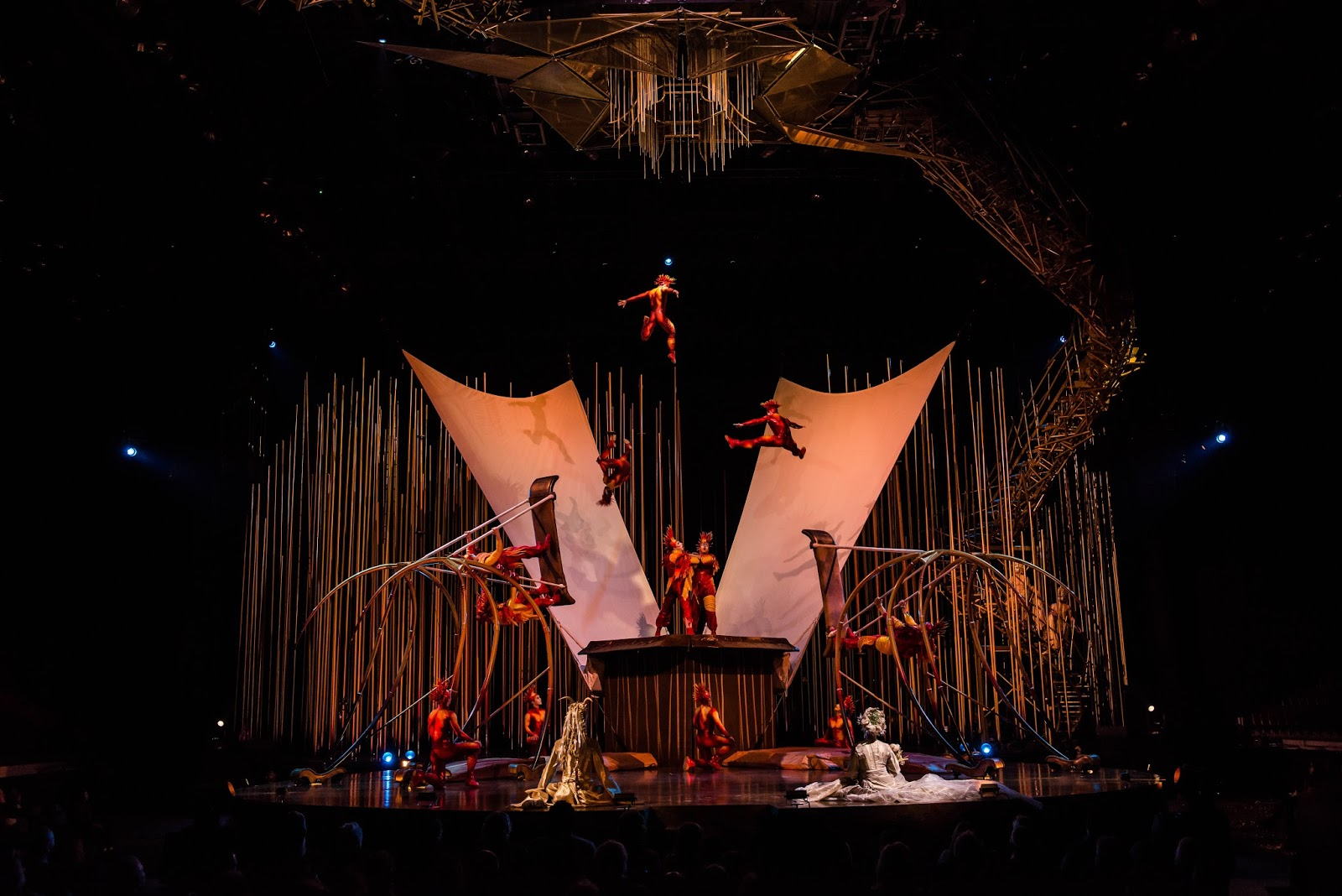 Cirque du Soleil Varekai | Newcastle Review & Tickets  - flying acrobats