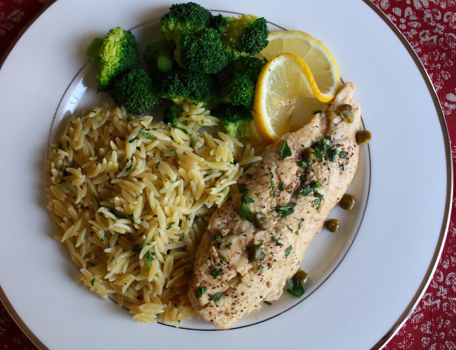 Nanna S Cookbook Dad S Chicken Piccata A Light And