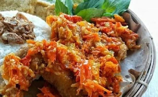 materials Make Chicken Geprek Sambal Setan original indonesia