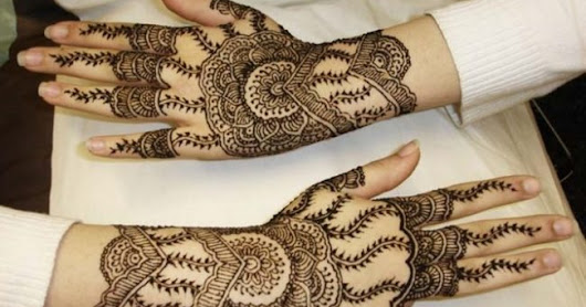 Most Love New & Simple Eid Mehndi Design for Hands to Inspire You